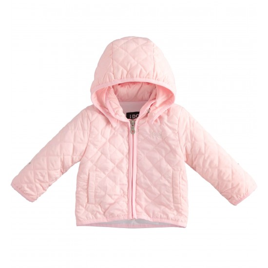 IDO Padded Jacket in Pink J159
