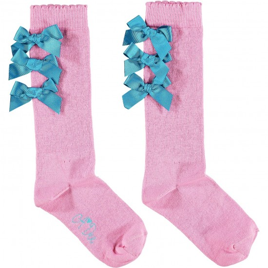 ADee Bow Knee High Socks