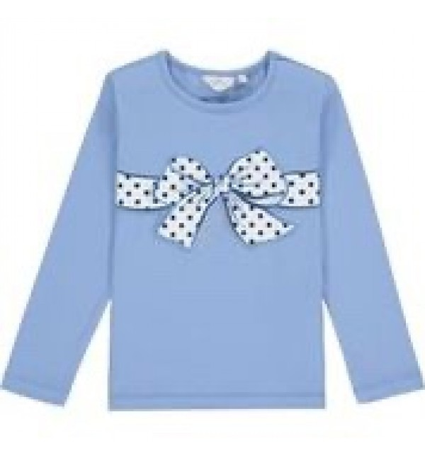 ADee Polka Dot Bow Top Hettie