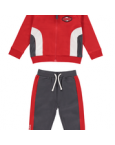 Red side panel tracksuit ms1034