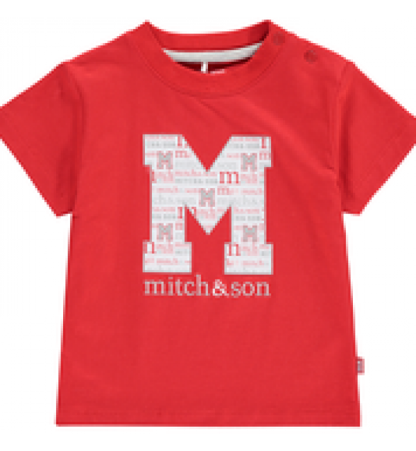 Mitch&son Big M T-shirt MS1108