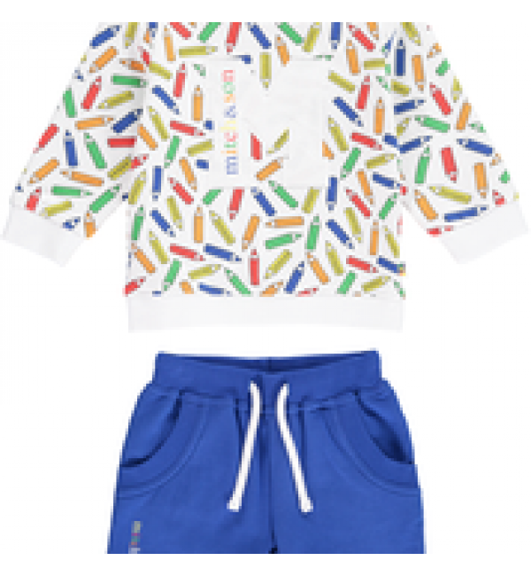 Mitch&son Pencil sweat shorts and top set MS1140