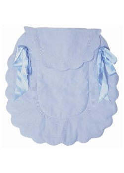 Rosy Fuentes Pram Cover 5401 in Pale Blue