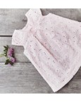 Absorba Pink embroidery dress