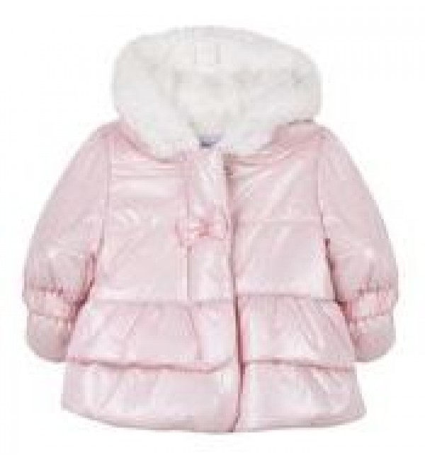 Absorba Pink Fur Lined Jacket
