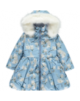 ADee Bird Print Coat 182213