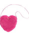 Hot Pink Fur Bag