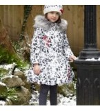 A Dee Snow Leopard Coat