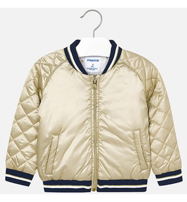 Mayoral Gold Bomber Jacket