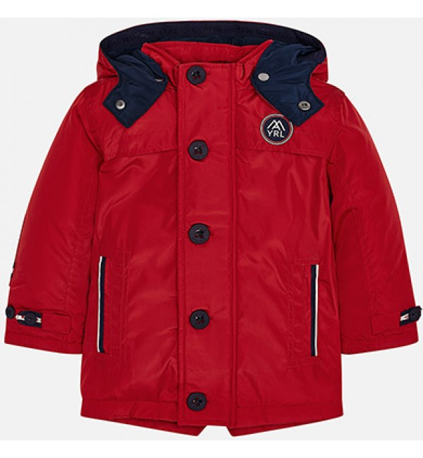 Mayoral Boys Red Nautical Jacket