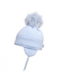 Satila of Sweden Pale Blue Daisy Hat