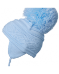 Satila big pom pom hat malva pb